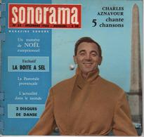 Sonorama Magazine N° 25 Décembre 1960 Charles Aznavour - Special Formats