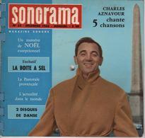 Sonorama Magazine N° 25 Décembre 1960 Charles Aznavour - Formats Spéciaux