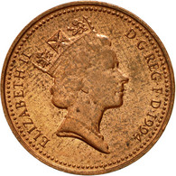 Monnaie, Grande-Bretagne, Elizabeth II, Penny, 1994, TB, Copper Plated Steel - 1971-… : Monnaies Décimales