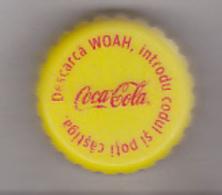 Romania Coca Cola Cap - Plastic Cap - Woah - Soda