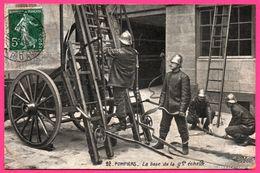 Pompiers - La Base De La Grande Echelle - Animée - STAERCK Frères - 1903 - Sapeurs-Pompiers
