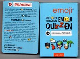 Jeu De Cartes Allemand - Emoji Quizzen - Jeux De Société