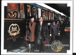 Brochure Promotionnelle VSOE Venice Simplon Orient Express 1988 (Wagons Lits,CIWL,sncf,chemin De Fer,trains - Europe
