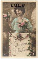 FEMMES 522 : Toute Mon Affection Avec Des Fleurs ; édit. As De Cœur Blanc N° 114 - Femmes