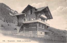 Rougemont - Chalet La Soldanelle - Non Circulé - VD Vaud