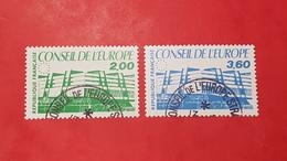 Timbres De Service N° 96 à 97 Avec Oblitèration Du Conseil De L'Europe  TTB - Usados