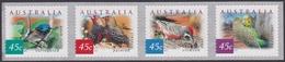 Australia ASC 1932b-1935b 2001 Desert Birds, Pemara Printing Peel And Stick, Mint Never Hinged - 2000-09 Elizabeth II