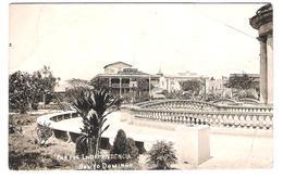 Republica Dominicana - Santo Domingo - Parque Independencia - Old Card With Stamp - 1928 - Dominikanische Rep.