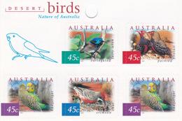 Australia ASC 1935h 2001 Desert Birds Sheetlet, Mint Never Hinged - 2000-09 Elizabeth II