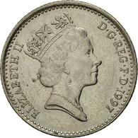 Monnaie, Grande-Bretagne, Elizabeth II, 10 Pence, 1997, TTB, Copper-nickel - 1971-… : Monnaies Décimales