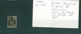 FRANCE Collection Cérès #21 Timbre °3 Oblitération Provisoire 10 Barres De Lille - 1849-1850 Ceres