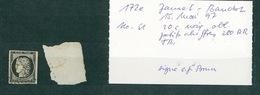 FRANCE Collection Cérès #31 Timbre N°3 Oblitération PC 280 Bastide D'Armagnac - 1849-1850 Ceres