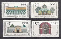 Allemagne DDR 1983  Mi.nr.: 2826-2829 Staatliche Schlösser Und Gärten  Neuf Sans Charniere /MNH / Postfris - [6] République Démocratique