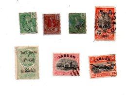 Un Petit Lot De Timbres -Indochine, Labuan, Tunis  -voir état- - Lots & Kiloware (mixtures) - Max. 999 Stamps