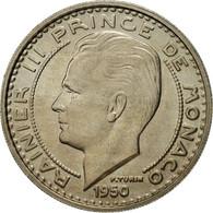 Monnaie, Monaco, Rainier III, 100 Francs, Cent, 1950, SUP, Copper-nickel - Monaco
