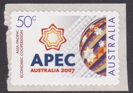 Australia ASC 2492a 2007 APEC, Peel And Stick, Mint Never Hinged - 2000-09 Elizabeth II
