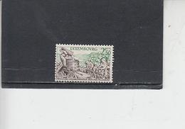 LUSSEMBURGO  1958 - Unificato  552° - Vendemmia - Lussemburgo