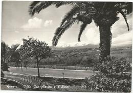 X3669 Giarre (Catania) - Villa Margherita E L'Etna - Panorama / Viaggiata 1954 - Italie