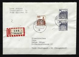BUND RECO-Beleg Mit Mi-Nr. 919 R - Rollenmarke (1) - BRD