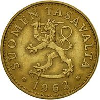 Monnaie, Finlande, 50 Penniä, 1963, TTB, Aluminum-Bronze, KM:48 - Finlande