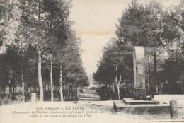 Gironde : LA TESTE : Monument De Nicolas Brémontier Qui Fixa..... - Autres Communes
