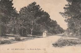 Gironde : ARCACHON : Le Moulleau : La Route Du Pyla - Arcachon