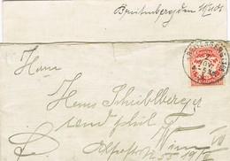 29526. Carta BREITENBERG (Bayern) 1906. Contiene Carta - Bavaria