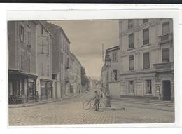 VILLEFRANCHE Sur Saône Carte Photo Rue De Thizy - Villefranche-sur-Saone