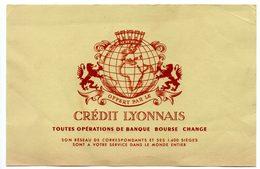 Buvard Crédit Lyonnais - Banque & Assurance