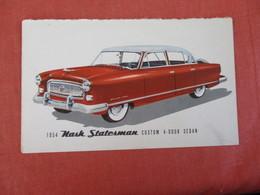1954 Nash Statesman     Ref 3025 - Passenger Cars