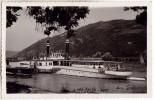 """ADA-KALEH / DANUBE : PORT - BATEAU / SHIP : """" BRÂNCOVEANU """" - CARTE VRAIE PHOTO / OLD REAL PHOTO POSTCARD ~ 1935 (t-056) - Roumanie"""