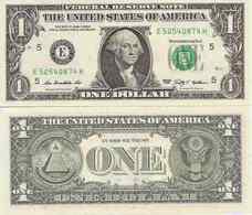 USA  1 Dollar  2009  UNC - Biljetten Van De  Federal Reserve (1928-...)