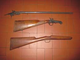 Morceaux De Carabines De Jardin Pour Pieces Port Offert - Armes Neutralisées