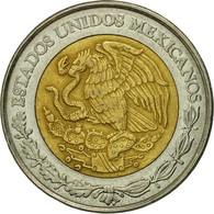 Monnaie, Mexique, 5 Nuevo Pesos, 1992, Mexico City, TTB, Bi-Metallic, KM:552 - Mexico