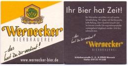 #D216-297 Viltje Werneck Brauerei - Sous-bocks