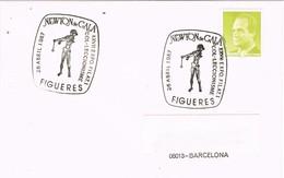 29534. Carta FIGUERAS (Gerona) 1987. Exposicion Newton De GALA. Dali - 1931-Hoy: 2ª República - ... Juan Carlos I