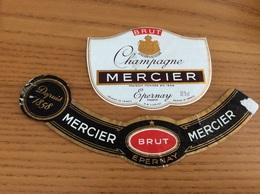 Etiquette Champagne «MERCIER ÉPERNAY (51) »  + Collerette - Champagne