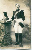 MILITARIA  -  Photo D' Un Soldat En Uniforme  - Garde Républicain à Cheval - Régiments