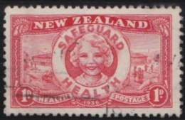 New Zealand    .     SG   .     598  .       O   .    Cancelled    .   /   .   Gebruikt - 1907-1947 Dominion