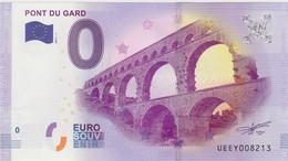 BILLET TOURISTIQUE 2017 LE PONT DU GARD - EURO