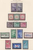 New Zealand    .     SG   .   Page With Stamps        *   .    Mint-hinged   .   /   .   Ongebruikt - Ongebruikt