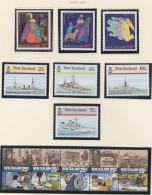 New Zealand    .     SG   .   Page With Stamps        **   .     MNH    .   /   .     Postfris - Ongebruikt