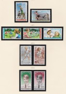 New Zealand    .     SG   .   Page  With Stamps     .        **   .     MNH    .   /   .     Postfris - Nieuw-Zeeland