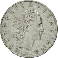 Monnaie, Italie, 50 Lire, 1956, Rome, TTB, Stainless Steel, KM:95.1 - 1946-… : Republic