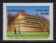 Honduras, Stamp Structure 4, Copan Ruins 2006, Has Error, Colors Shifted Down, Scott C1230 MNH - Honduras
