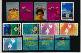 Célébration De Noël  à L'île COCOS (Océan Indien) 13 Timbres Neufs **, 4 Séries Complètes. Côte 30,00 € EUR. 1990's - Noël