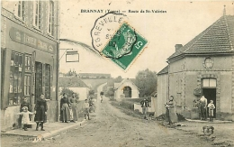 Brannay. Route De Saint-Valérien - Other Municipalities
