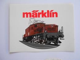 Autocollant  MARKIN - Model Railways