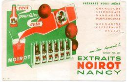Buvard Extraits Noirot à Nancy. - Limonades