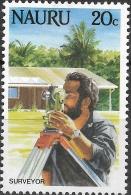 NAURU 1984 Life In Nauru - 20c - Surveyor MH - Nauru